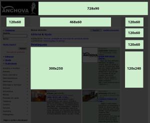 Banner layout - Página inicial
