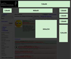Banner layout - Página de visualização de categorias e resultados de buscas